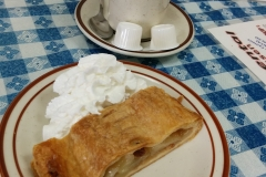 Apple Strudel with Coffee